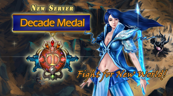 New Server:Decade Medal