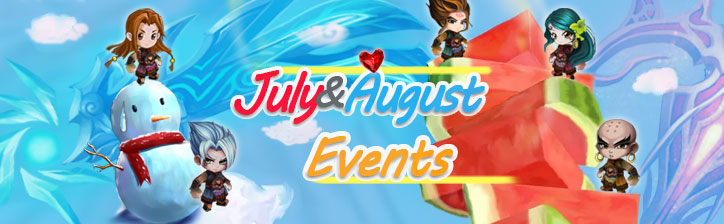 July&August Events